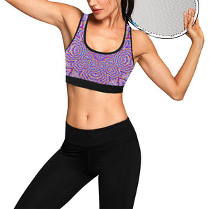 Ethereal Women's All Over Print Sports Bra (Model T52)