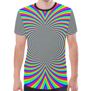 Hypnotizer New All Over Print T-shirt for Men (Model T45)