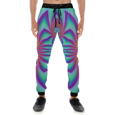 Spiral Factory Men's All Over Print Sweatpants (Model L11)