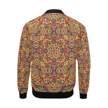 Beauty in Chaos All Over Print Bomber Jacket for Men (Model H19)