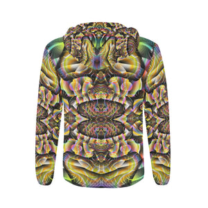 Ayahuasca All Over Print Full Zip Hoodie for Men (Model H14)