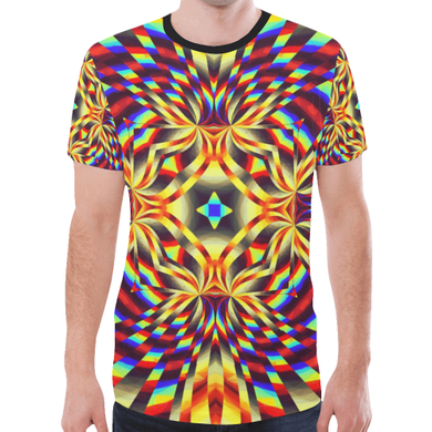 Pure Energy New All Over Print T-shirt for Men (Model T45)