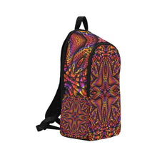 Elemental Fire Fabric Backpack for Adult (Model 1659)