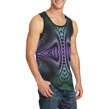 Unfolding Men's All Over Print Tank Top (Model T57)