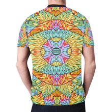 Eye of the Sun New All Over Print T-shirt for Men (Model T45)