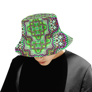 Borophyll All Over Print Bucket Hat for Men