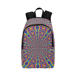 Groovy Fabric Backpack for Adult (Model 1659)