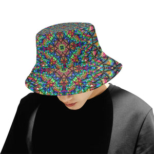 Meditative Thoughts All Over Print Bucket Hat for Men