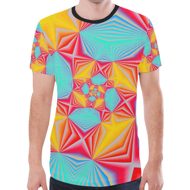 Vortex New All Over Print T-shirt for Men (Model T45)