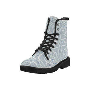 Elemental Air Martin Boots for Women (Black) (Model 1203H)