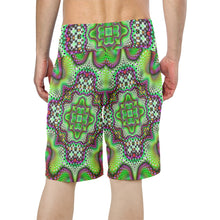 Borophyll Men's All Over Print Board Shorts (Model L16)