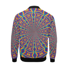 Groovy All Over Print Bomber Jacket for Men (Model H19)