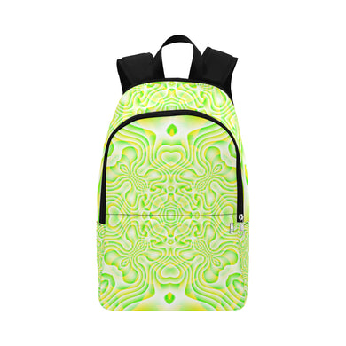 Lemon Lime Fabric Backpack for Adult (Model 1659)