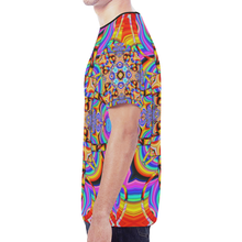 Hyper Cube New All Over Print T-shirt for Men (Model T45)