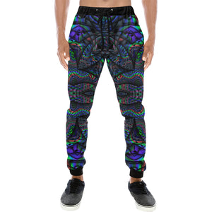 Elemental Water Men's All Over Print Sweatpants (Model L11)