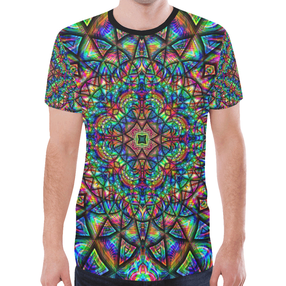 Meditative Thoughts New All Over Print T-shirt for Men (Model T45)