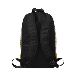 Ritual Fabric Backpack for Adult (Model 1659)