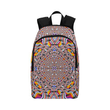 Ripples Fabric Backpack for Adult (Model 1659)