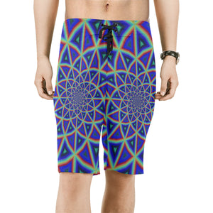 Full Spectrum Men's All Over Print Board Shorts (Model L16)
