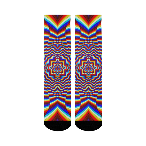 Focused Mid-Calf Socks (Black Sole)