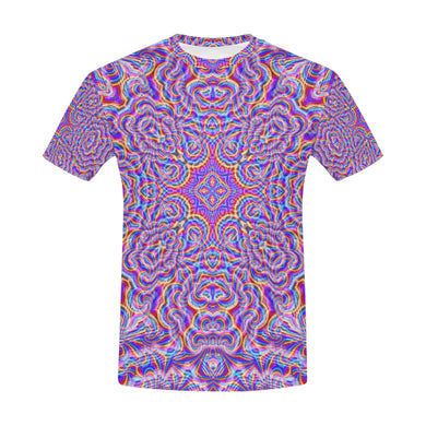 Ethereal All Over Print T-Shirt for Men (USA Size) (Model T40)