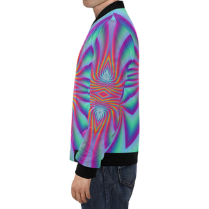 Spiral Factory All Over Print Bomber Jacket for Men (Model H19)