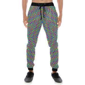 Neuron Stimulator Men's All Over Print Sweatpants (Model L11)