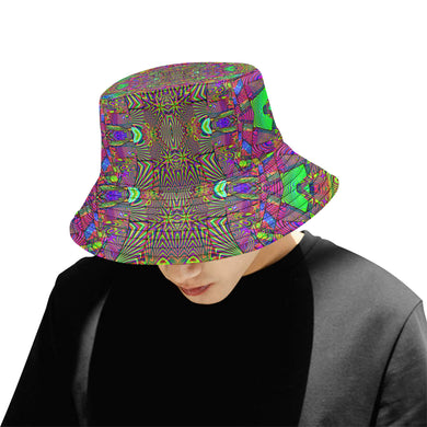 Trippydelik All Over Print Bucket Hat for Men