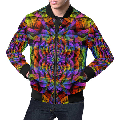 Consciousness All Over Print Bomber Jacket for Men (Model H19)