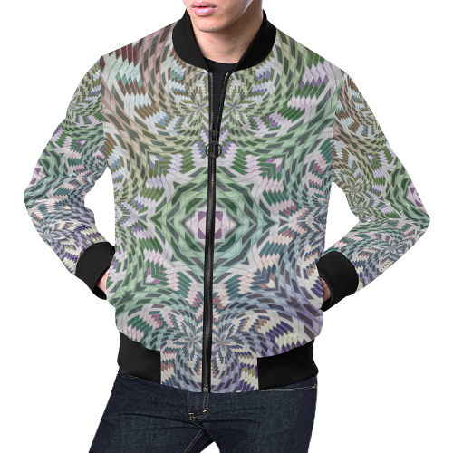 Building Empires All Over Print Bomber Jacket for Men (Model H19)