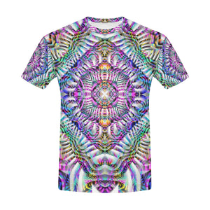 Coral Reefer All Over Print T-Shirt for Men (USA Size) (Model T40)