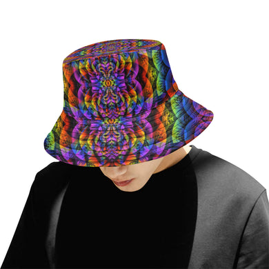 Consciousness All Over Print Bucket Hat for Men