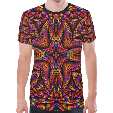 Elemental Fire New All Over Print T-shirt for Men (Model T45)