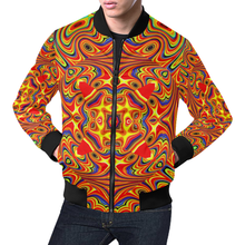 Samsara All Over Print Bomber Jacket for Men (Model H19)