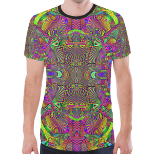 Trippydelik New All Over Print T-shirt for Men (Model T45)
