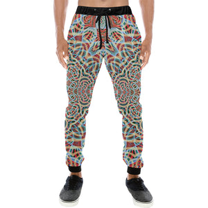 A Warm Place Men's All Over Print Sweatpants (Model L11)