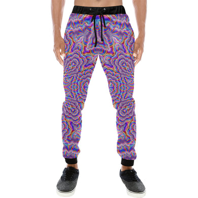Ethereal Men's All Over Print Sweatpants (Model L11)