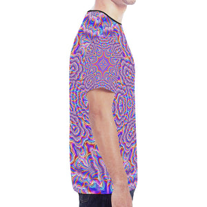 Ethereal New All Over Print T-shirt for Men (Model T45)