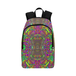 Trippydelik Fabric Backpack for Adult (Model 1659)