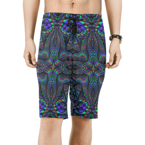 Elemental Water Men's All Over Print Board Shorts (Model L16)