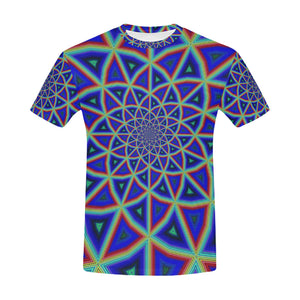 Full Spectrum All Over Print T-Shirt for Men (USA Size) (Model T40)