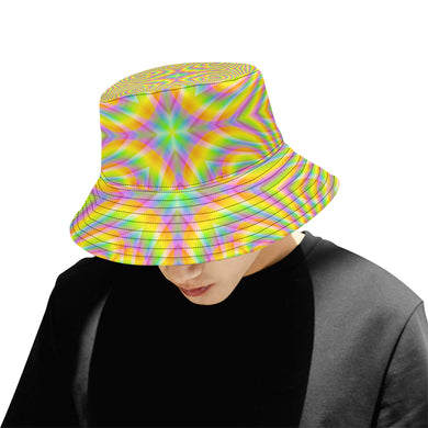 Pure All Over Print Bucket Hat for Men