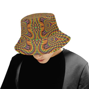 Harmonic All Over Print Bucket Hat for Men