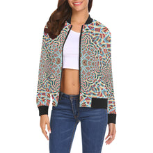 A Warm Place All Over Print Bomber Jacket for Women (Model H19)