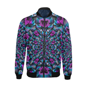 Turbulence All Over Print Bomber Jacket for Men (Model H19)
