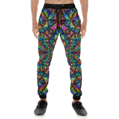 Meditative Thoughts Men's All Over Print Sweatpants (Model L11)