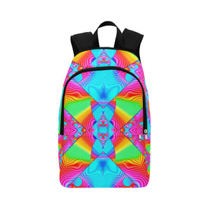 Rainbowdelik Fabric Backpack for Adult (Model 1659)