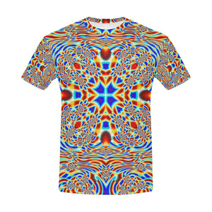 Chrysalis All Over Print T-Shirt for Men (USA Size) (Model T40)