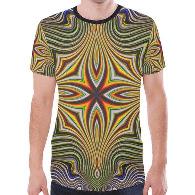 Tribal New All Over Print T-shirt for Men (Model T45)