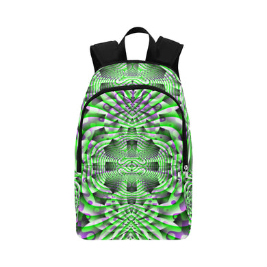 Mystic Motions Fabric Backpack for Adult (Model 1659)